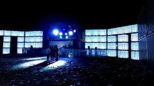 Cubes @ 'The Vault' Creamfileds