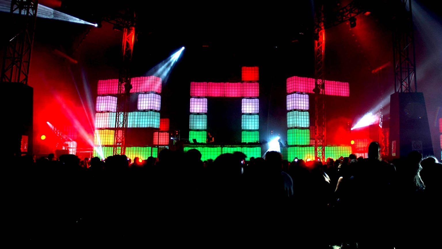 Cubes @ Electric Daisy Carnival