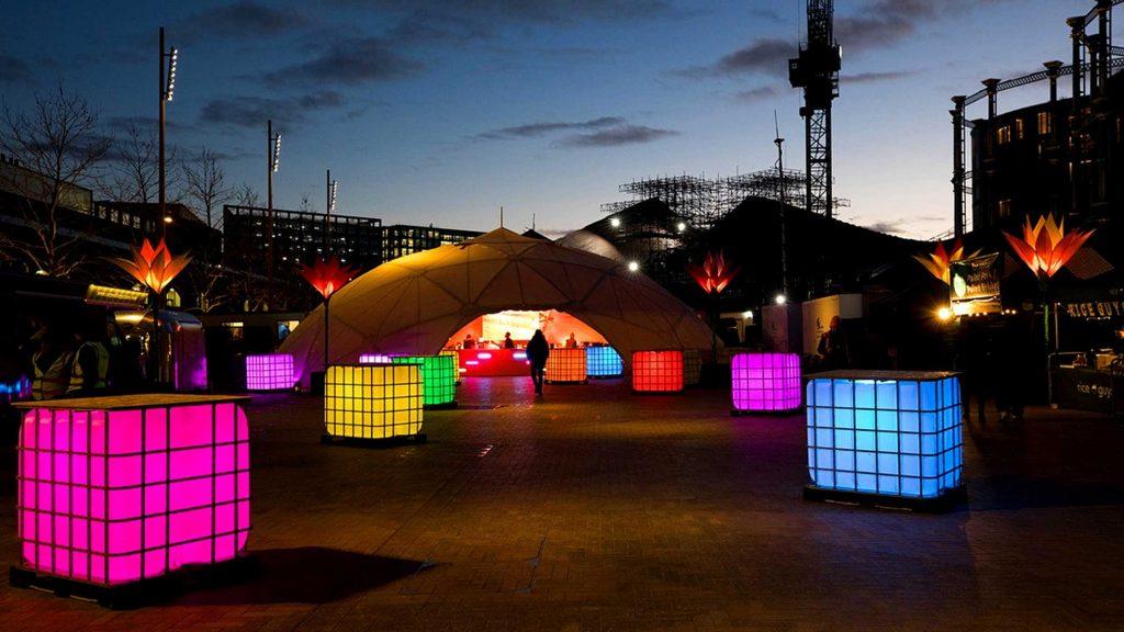 Cubes @ London Lumiére