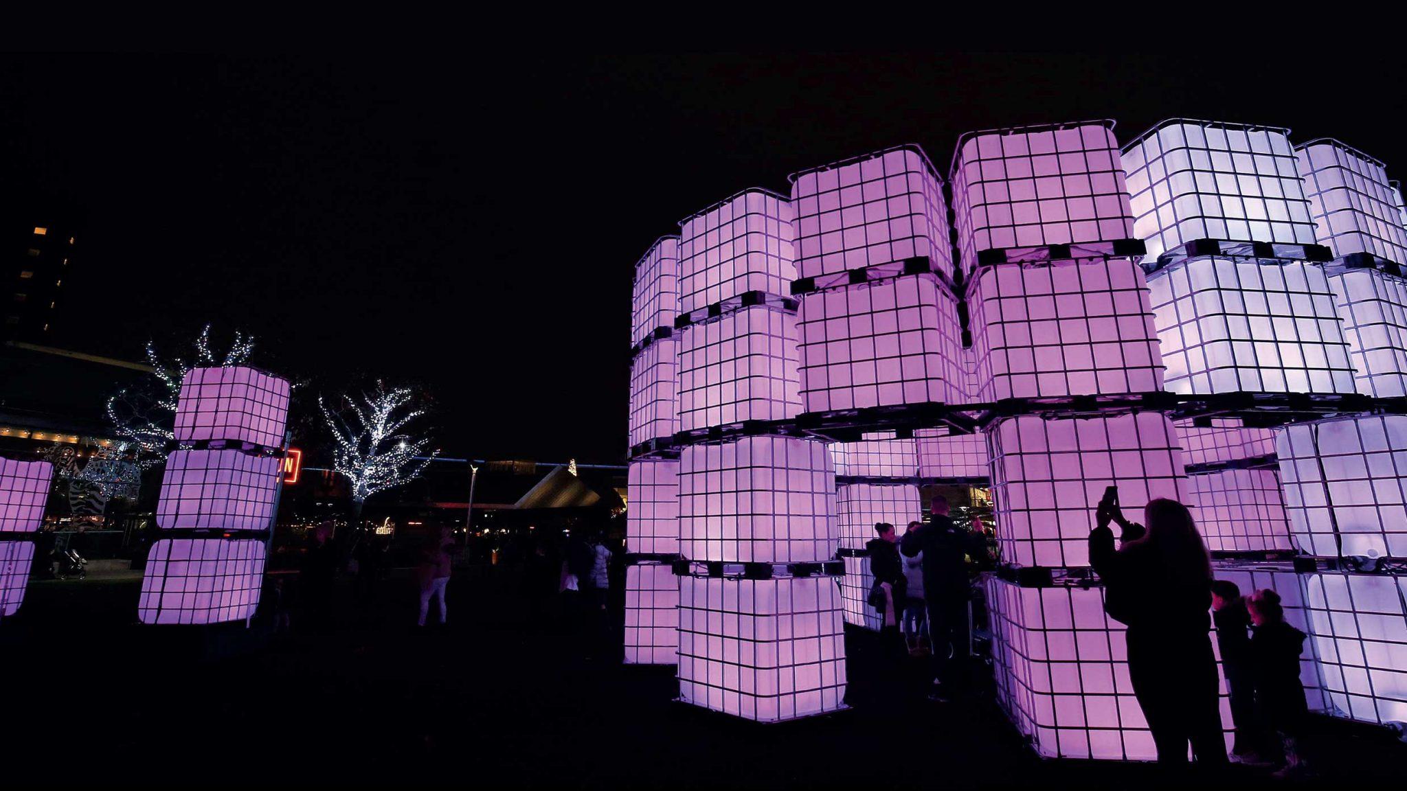 Cubes 'Polaris' @ Liverpool One